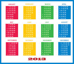 Calendar 2013 Template 2013 Calendar Template Free Stock Photo Public Domain Pictures