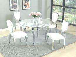white glass dining table round glass dining table set round glass kitchen table sets glass dining