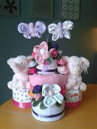 Baby Tray Decoration Diaper Cakes Creative Diaper Cakes and More 49