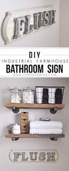 diy bathroom decor pinterest. 41 Incredible Farmhouse Decor Ideas. Signs For BathroomDiy Diy Bathroom Pinterest Z