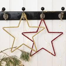 Auf Metalldraht Gehäkelter Weihnachtsstern Diy Anleitung