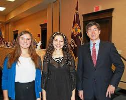 patriot s pen and voice of democracy winners honored the  three students represented berkshire hills regional school district at the massachusetts vfw patriot s pen and voice