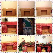 fake fireplace cardboard image result for brick like construction paper how to make a fake fireplace