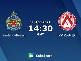 Waasland-Beveren KV Kortrijk Live Ticker und Live Stream - SofaScore