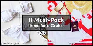 7 Day Cruise Packing List 11 Must Pack Items For A Cruise Royal Caribbean Blog