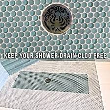 clogged shower drain clogged bathtub drain drano
