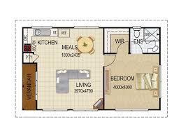 floor plan house with granny flat elegant granny flat plans designs house queensland house plans