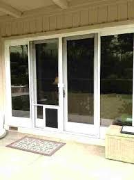 in glass pet door dog doors sliding for installation installing a exterior door with pet