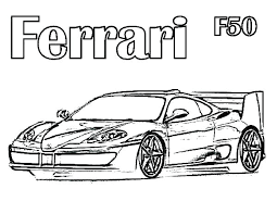 Ferrari Coloring Pages Ferrari Fxx K Coloring Pages Coloring Book