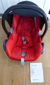 maxi cosi cabriofix baby car seat and manual free
