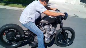 redemption cycles cb750 hardtail bobber custom motorcycle youtube