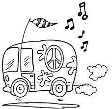 Bus Kleurplaat Bus 2 Vw Busje Kleurplaat Shshiinfo
