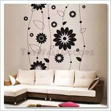 Small Picture Decals Abstract Flower