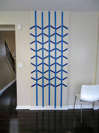 Small Picture Wall Paint Design Ideas With Tape