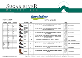 Australian Shoe Size Chart Sugar River Outfitters