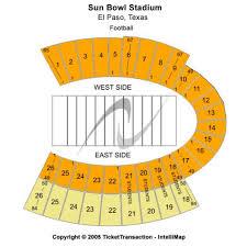 Sun Bowl Stadium Seating Chart Sun Bowl Stadium Events And Concerts In El Paso Sun Bowl