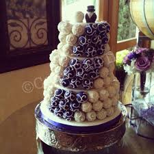 13 Grey And Purple Cupcake Wedding Cakes Photo Purple And Gray