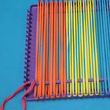 Weaving Loom Patterns Gorgeous How To Use A Weaving Loom To Make A Potholder Craft Project Ideas