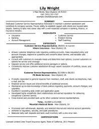 Resume Template For Customer Service Cool Good Resume Examples For Jobs Customer Service Representative Full