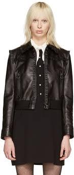 miu miu black leather ruffle jacket women miu miu sneakers with crystals miu miu wallet matelasse t