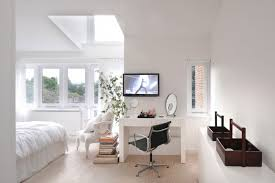 set design scandinavian bedroom. cozy bedroom with a clever workspace design tg studio set scandinavian p