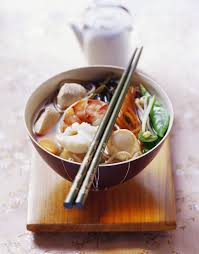 Mixed Seafood Noodle Soup recipe