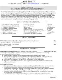 Banking Resume Examples Interesting Top Banking Resume Templates Samples