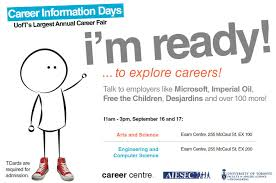 five tips to explore careers at cid the cid poster which reads career information days u of t s largest annual career