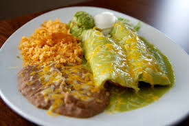 mexican food enchiladas. Wonderful Mexican 2 MexicanAmerican Enchiladas Verdes At Casa Vega Sherman Oaks  Throughout Mexican Food A