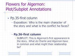 plot essential literary concept s plot megan m trimble c a  25 flowers for algernon