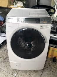 Máy Giặt Panasonic Na-Vx7000 Giặt 9Kg Sấy 6Kg, Date 2011 Có Econavi, Nanoe,  Màu Kem