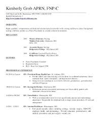 Nurse Practitioner Resume Examples Example Inspirational 6 Family ...