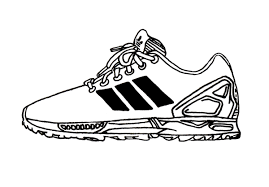 adidas shoes drawing. you might question the inclusion of adidas zx flux but silhouette will surely become a classic model in years come. dna shoe derives shoes drawing b