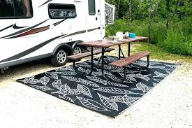 large outdoor camping rugs camper room area finishing the edges rug world read this before you