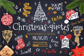 Merry Christmas Quotes Lettering Set Graphic By Evgeniiasart Creative Fabrica Christmas Lettering Merry Christmas Images How To Draw Hands