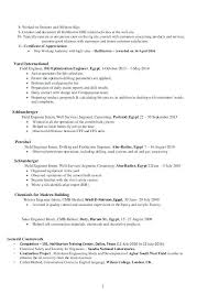 Construction Field Engineer Sample Resume Simple Field Engineer Resume Sample Colbroco