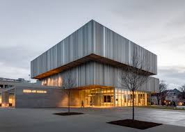 why expands louisville s sd art museum with a corrugated metal facade