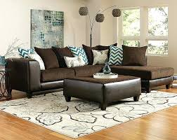 fascinated brown sectional sofas brown wrap around couch reggae vibes two piece