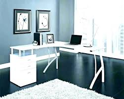 office floating desk small. Floating Corner Desk Small Office Computer White