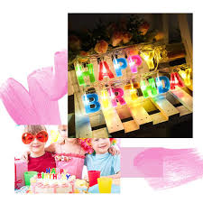 Happy Birthday Led String Lights Frightening Halloween Decorations Rong Halloween Happy