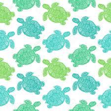 Turtle Pattern Extraordinary Sea Turtle Illustration In Paisley Mehndi Style Wallpaper Pattern