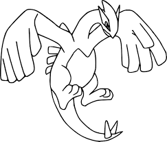 Coloriage Lugia Pokemon Imprimer Coloriage Coloriagelugia Dessin