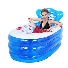 nuoao jingdong lightning delivery yurun insulation large inflatable bath family family bathtub young children s pool baby folding bathing bathtub