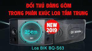 TEST HÀNG MỚI VỀ - Loa karaoke BIK S63, Loa Nhật - Nam Châm kép giá rẻ nhất  thị trường - Collectif-du-chambon