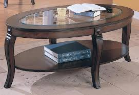 oval clear tempered glass coffee table tops