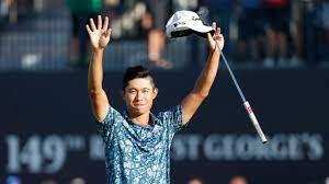 Collin Morikawa wins The Open ...