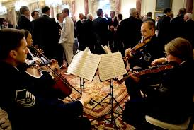 u s department of defense photo essay an air force string quartet plays during a reception hosted by u s defense secretary robert m