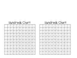 Small Hundreds Chart Printable Mini Hundreds Chart Worksheets Teaching Resources Tpt