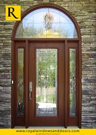 single entry doors with glass. Single Entry Door , Wood Finish, Two Side Lites, Transom, Designer Glass Doors With