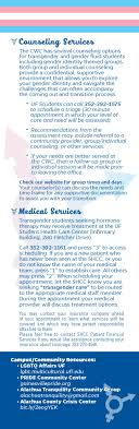 lgbtq care resources student health care center college of  services for transgender students